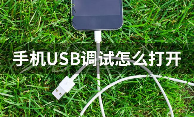 手机USB调试怎么打开