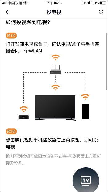 视频TV功能投屏