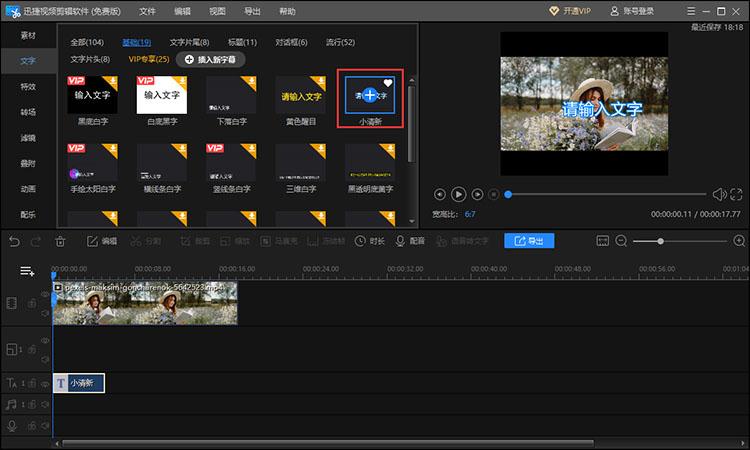 添加视频效果